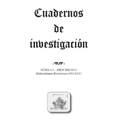 Cuadernos de investigación 4-5