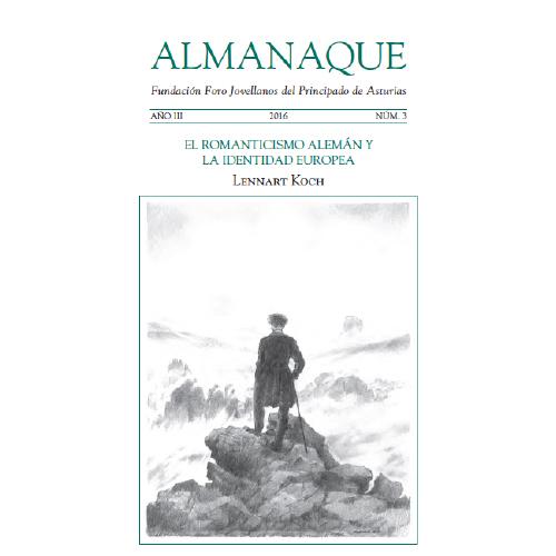 """Almanaque. Nº 3 """"El Romanticismo alemán y la identidad europea"""""""