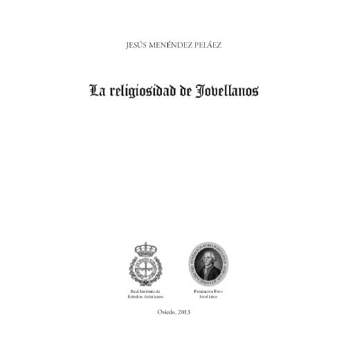 La religiosidad de Jovellanos