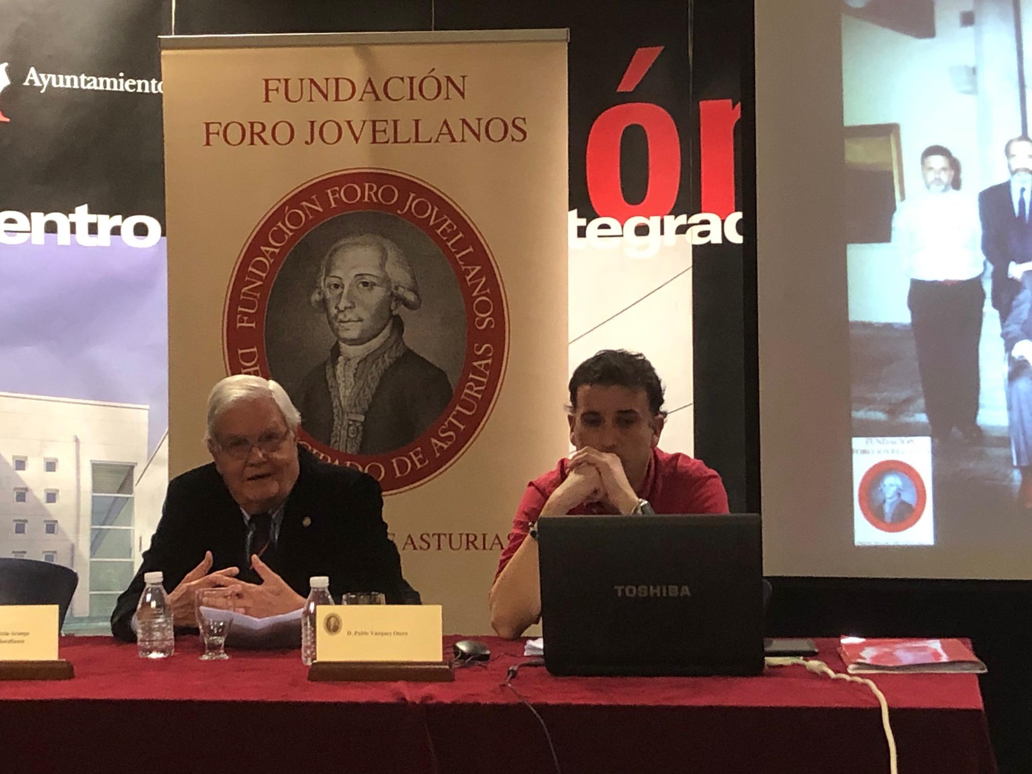 Ciclo: Acercándonos a Jovellanos, vecino de Gijón. Pablo Vázquez Otero