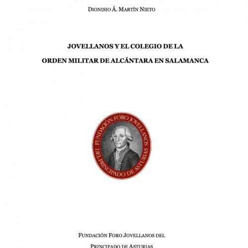 Jovellanos y el Colegio de la Orden Militar de Alcántara en Salamanca