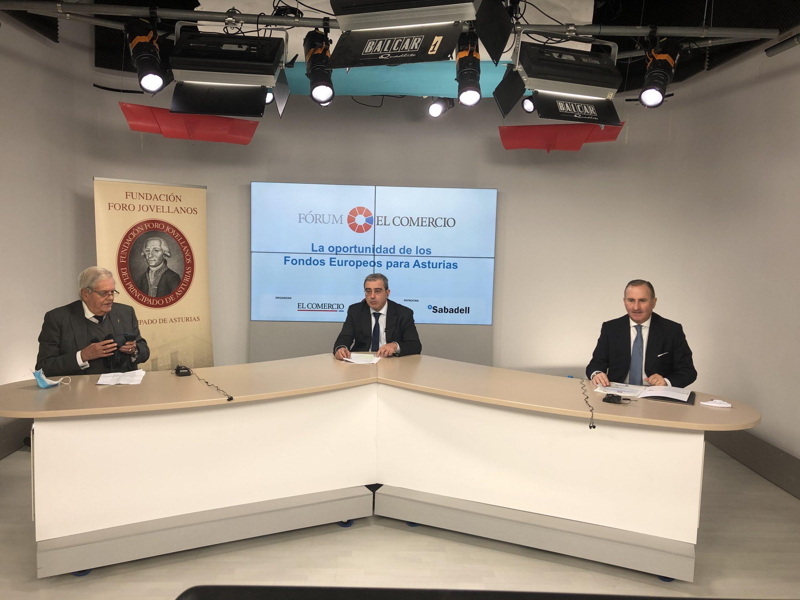 """Coloquio: """"La oportunidad de Los Fondos Europeos para Asturias"""""""