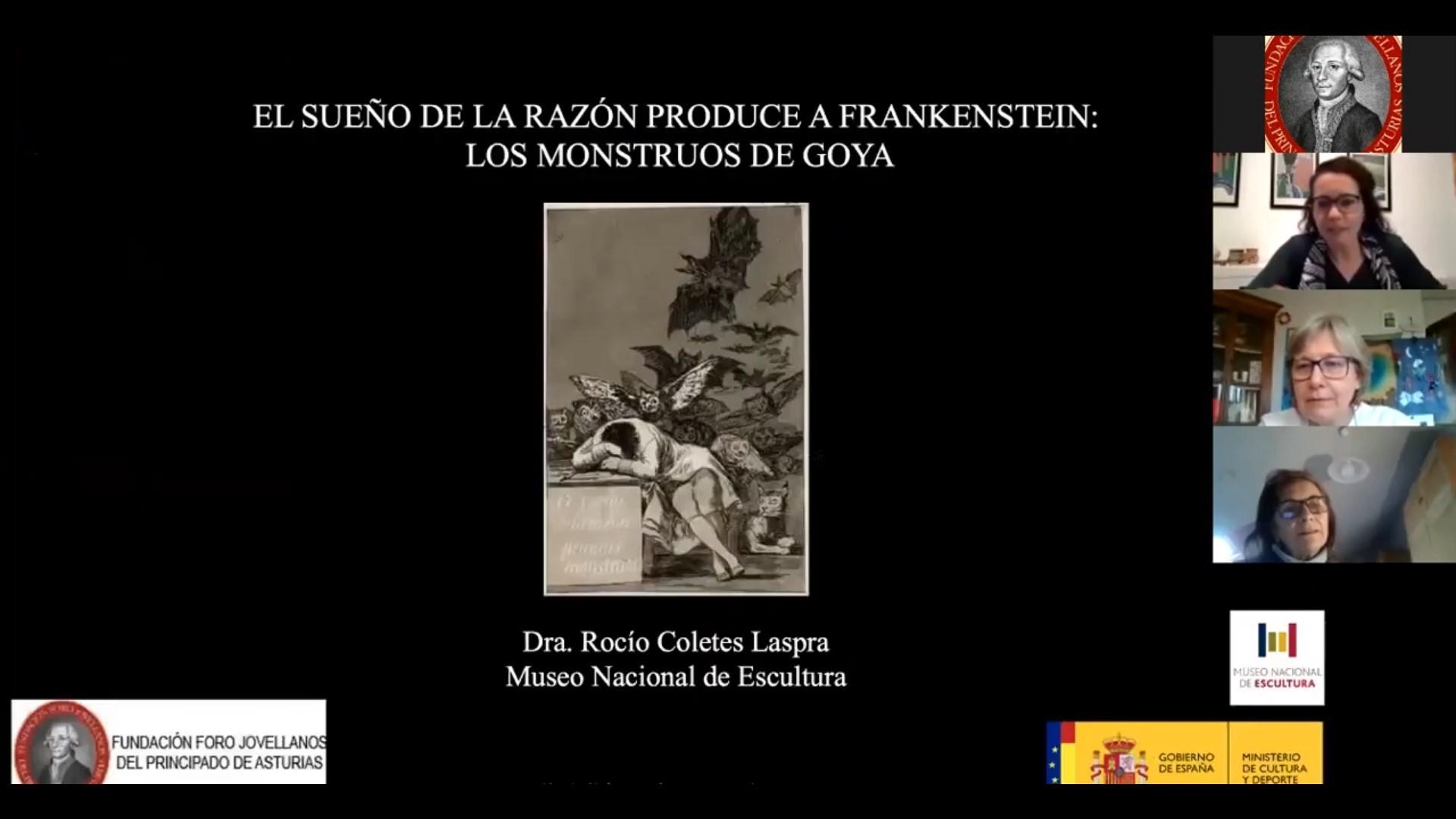 """CONFERENCIA: """"El Sueño de la razón produce Frankenstein. Los monstruos de Goya"""""""
